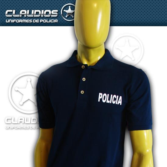 Playera tipo polo – Uniformes de Policía Claudios c3d573121da56